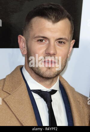 London, London, UK. 28th Nov, 2018. Jack Wilshere at the Creed 2 UK Premiere at the BFI Imax. Credit: Keith Mayhew/SOPA Images/ZUMA Wire/Alamy Live News - Stock Photo