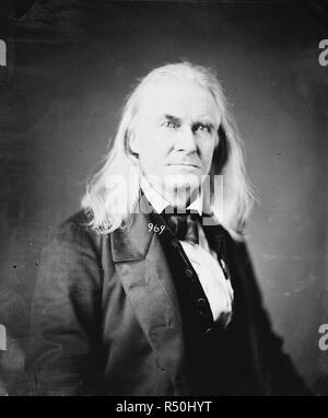 Edmund Ruffin. Fired the 1st shot in the Civil War. Killed himself at close of War, circa 1865 - Stock Photo