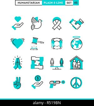 Humanitarian, peace, justice, human rights and more.  - Stock Photo