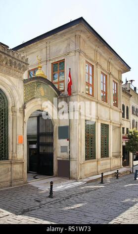 Dervishes House - Galata Mevlevihanesi in Istanbul. Turkey - Stock Photo
