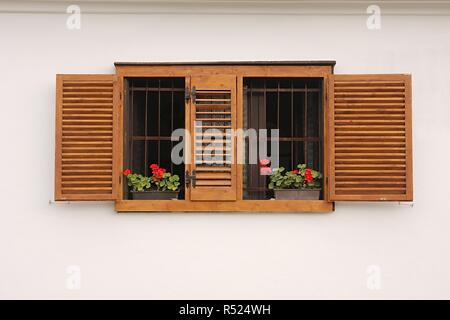 Old House Window - Stock Photo