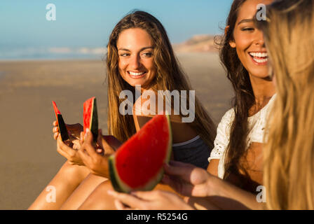 A day on the beach - Stock Photo