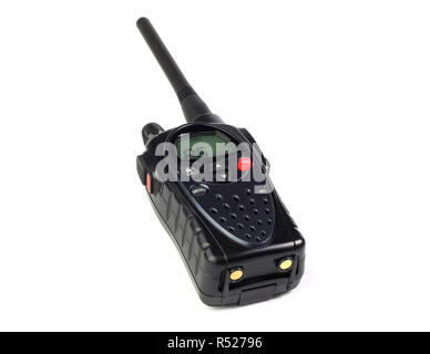 walkie-talkie on a white background isolated - Stock Photo