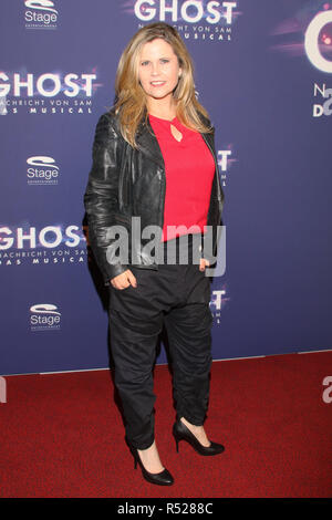 Guests at the premiere of the musical 'GHOST' at Operettenhaus Hamburg  Featuring: Michaela Schaffrath Where: Hamburg, Germany When: 28 Oct 2018 Credit: Becher/WENN.com - Stock Photo