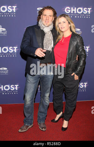 Guests at the premiere of the musical 'GHOST' at Operettenhaus Hamburg  Featuring: Carlos Anthonyo, Michaela Schaffrath Where: Hamburg, Germany When: 28 Oct 2018 Credit: Becher/WENN.com - Stock Photo