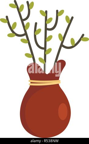 Tree for planting icon. Flat illustration of tree for planting vector icon for web design - Stock Photo