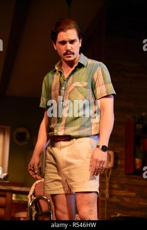 London, UK. 29th Nov 2018. Kit Harington, True West Theatre Photocall, London.UK Credit: michael melia/Alamy Live News - Stock Photo