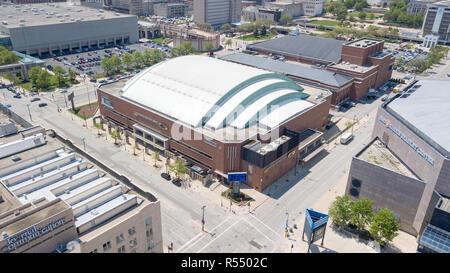UW Milwaukee Panther Arena, Milwaukee, WI, USA - Stock Photo