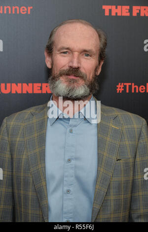 Toby Huss attends the New York premiere of 'The Front Runner' at the Museum of Modern Art on October 30, 2018 in New York City. - Stock Photo