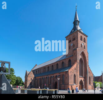St Canute's Cathedral (Sankt Knuds Kirke), Odense, Funen, Denmark - Stock Photo