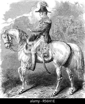 General Sir James Simpson GCB, 1792, 1868, woodcut, England - Stock Photo