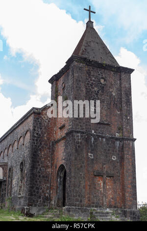 Abandoned christian church - Stock Photo