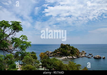 Italy: View of Isola Bella's island