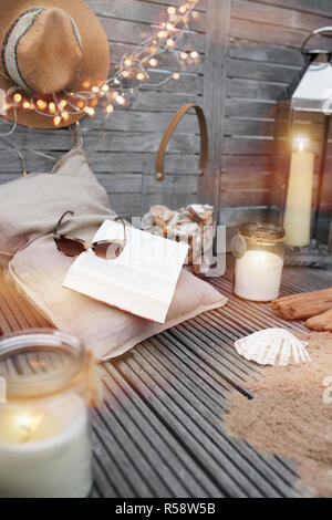 maritime still life to relax - Stock Photo