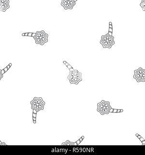 Pneumonia alveolus pattern seamless vector repeat geometric for any web design - Stock Photo