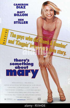 There's Something about Mary - Original Movie Poster - Stock Photo