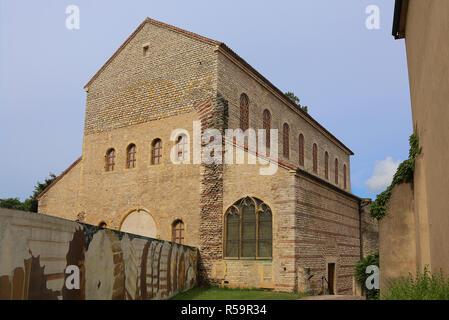 saint peter on the citadel or saint-pierre-aux-nonnains in metz - Stock Photo