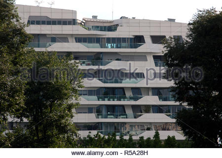 residenze hadid, citylife, milan - Stock Photo