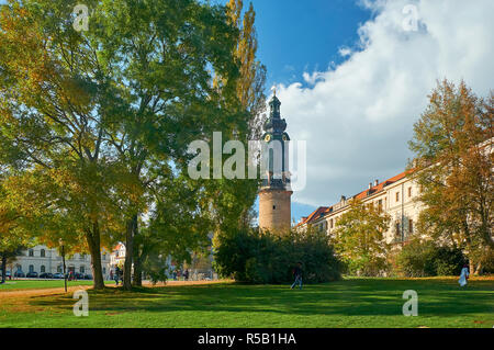 Residential Palace in Weimar, Thuringia, Germany - Stock Photo