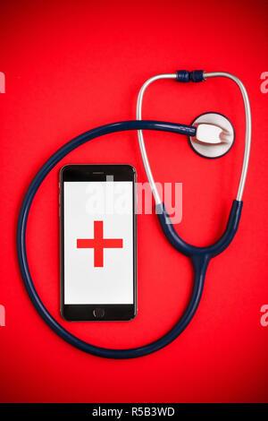 Health app. _DSC1150 VOISIN/PHANIE - Stock Photo