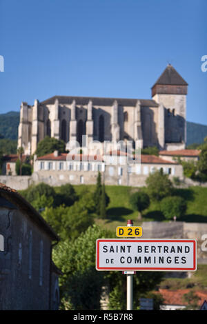 St Bertrand De Comminges, Haute-Garonne, Pyrenees, France - Stock Photo