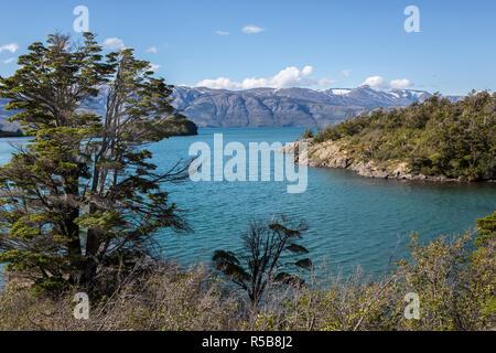Lago el Toro, Patagonia, Chile. - Stock Photo