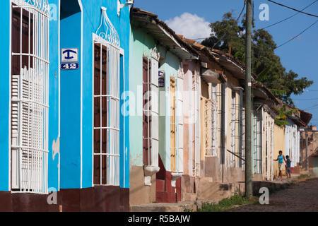 Cuba, Sancti Spiritus Province, Trinidad - Stock Photo