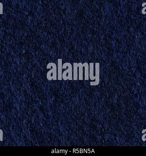 High resolution close up of dark felt fabric. Seamless square texture. Tile ready. - Stock Photo