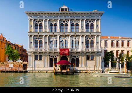 Italy, Veneto, Venice, Grand Canal, Venice Casino (Casino di Venezia) - Stock Photo