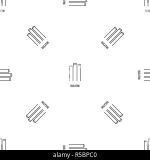 Bucatini pattern seamless vector repeat geometric for any web design - Stock Photo