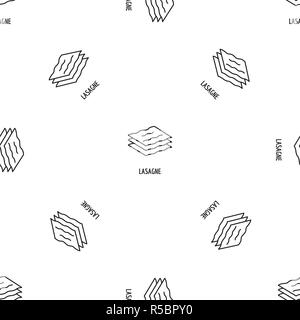 Lasagne pattern seamless vector repeat geometric for any web design - Stock Photo
