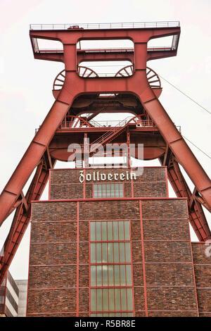 Zollverein, Ruhr Valley, Essen, North Rhine-Westphalia, Germany - Stock Photo
