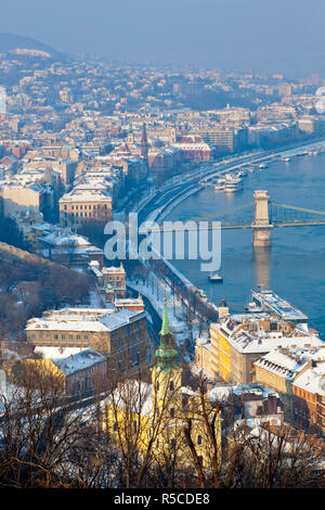 Buda Castle and Castle District, Budapest, Hungary - Stock Photo