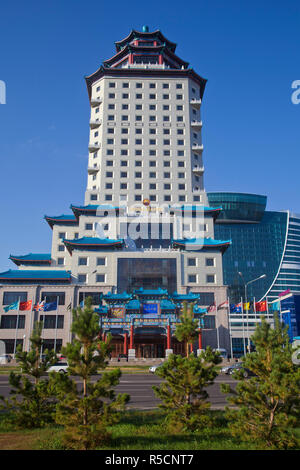 Kazakhstan, Astana, The Beijing Palace Soluxe Hotel - Stock Photo