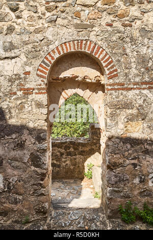 Entrance in the wall - Stock Photo