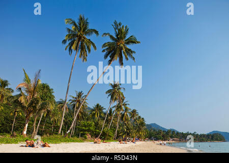 Thailand, Trat Province, Koh Chang, Lonely Beach - Stock Photo