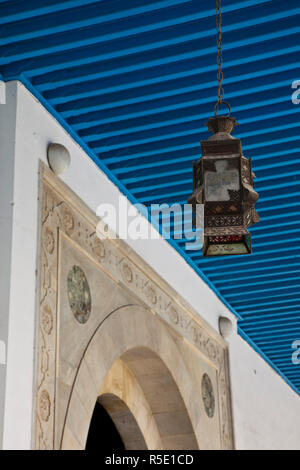 Tunisia, Tunis, Bardo Museum, exterior lantern - Stock Photo