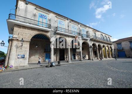 Casa del Conde de Lombillo, Havana,Cuba - Stock Photo