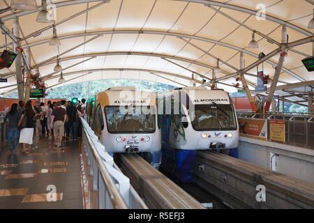 KL Monorail, Kuala Lumpur, Malaysia - Stock Photo