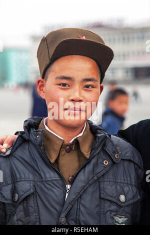 Democratic Peoples's Republic of Korea (DPRK), North Korea, East Sea of Korea, Wonsan City - Stock Photo
