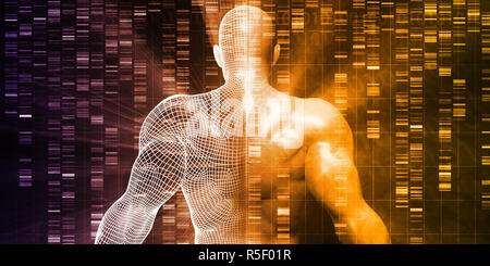 DNA Sequencing - Stock Photo
