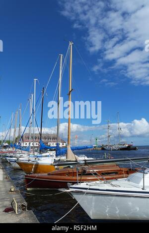 western pomeranian sailing route - Stock Photo