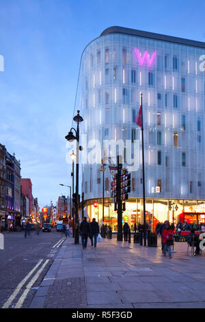 W Hotel, Leicester Square, London, England, UK - Stock Photo
