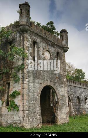 old colonial plantation,principe island,sao tome and principe,africa