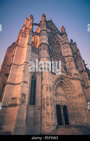 St. Peter Cathedral in Beauvais. Beauvais, Hauts-de-France, France. - Stock Photo