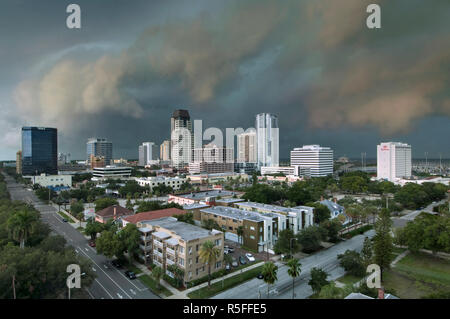 USA, Florida, Saint Petersburg, Downtown - Stock Photo