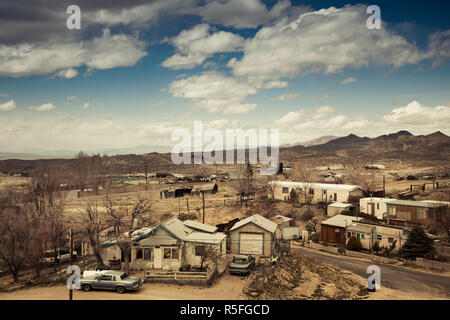USA, Nevada, Great Basin, Tonopah - Stock Photo