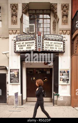 Gotham Comedy Club, 23rd Street, Chelsea, Manhattan, New York City, USA - Stock Photo