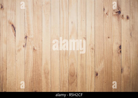 Texture image of beige wooden floor - Stock Photo