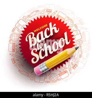 Back To School Design - Stock Photo